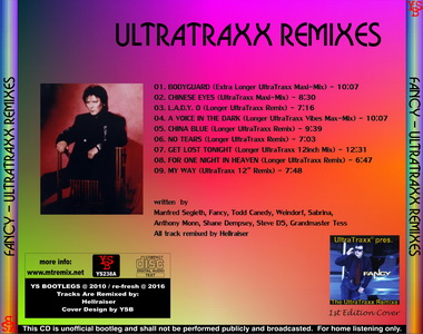 YS Bootlegs - YS238A FANCY - UltraTraxx Remixes